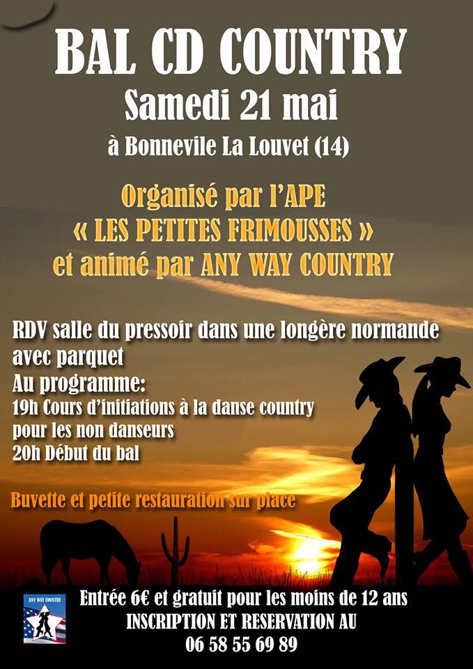 soirée country APE